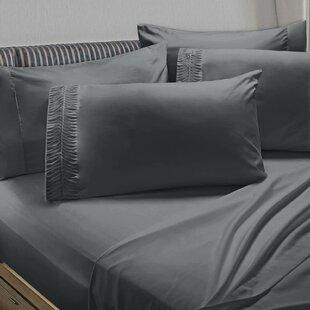 Navya Luxury Pleated Solid Sheet Set