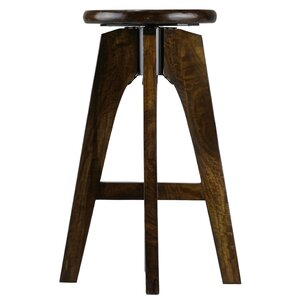 Adjustable Height Swivel Bar Stool by Bare Decor