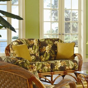 Caneel Bay'' Loveseat by Spice Islands Wicker
