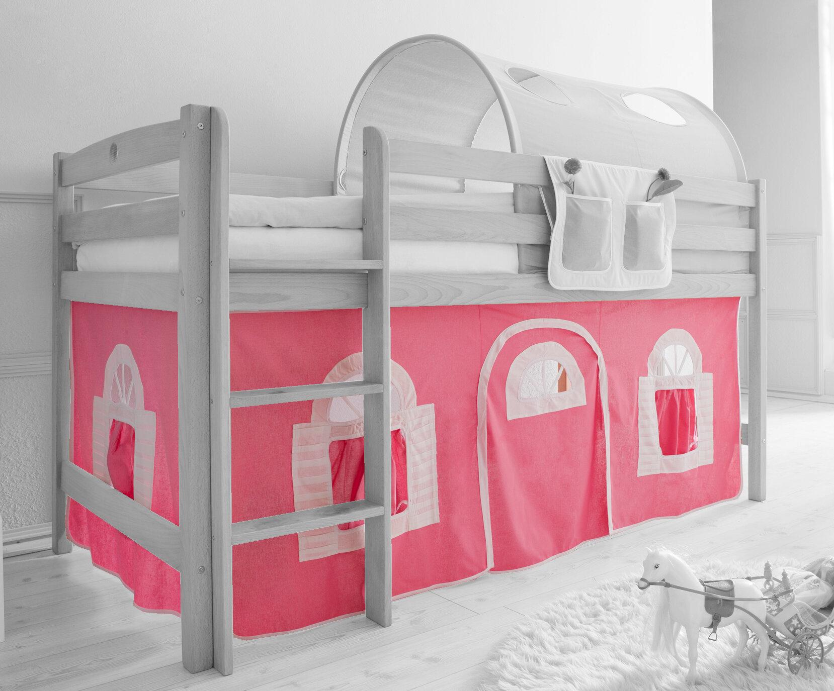 Etagenbett Baby Walz : Ticaa hochbett vorhang u2013 zuhause image idee