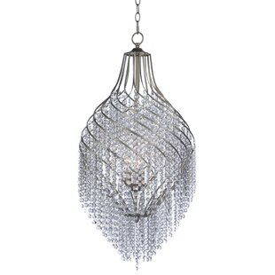 Rosdorf Park Dede 3-Light Crystal Chandelier