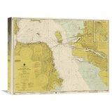 Traditional Yellow Map Wall Art You Ll Love In 2020