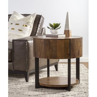 Reiban End Table by 17 Stories