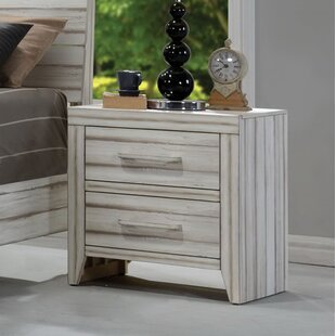 Karina 2 Drawer Nightstand by Highland Dunes