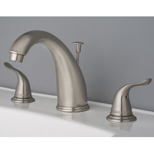 Reviews Widespread Lavatory Faucet with Drain Assembly ByLaguna Brass