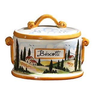 Tuscany Oval Cookie jar