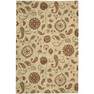 Langport Hand-Tufted Wool Beige Area Rug byDarby Home Co