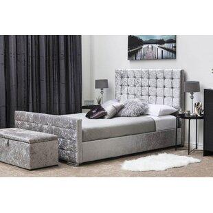 Mara Diamante Upholstered Bed Frame By Willa Arlo Interiors