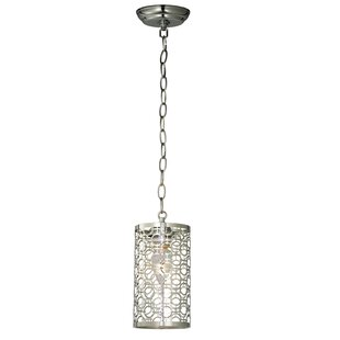 Meyda Tiffany Deco 1-Light Cylinder Pendant