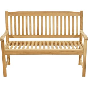 Hedgewick Teak Bench By Sol 72 Outdoor