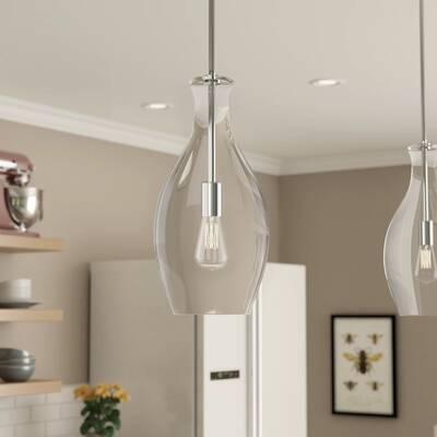 Laurel Foundry Modern Farmhouse Jewell 1 Light Single Bell Pendant Reviews Wayfair