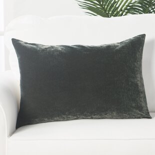 Capucina Solid Rectangular Throw Pillow