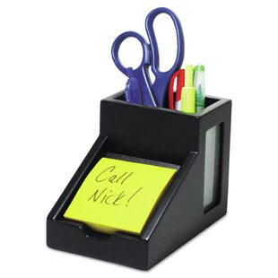 Victor Midnight Pencil Cup with Note Holder