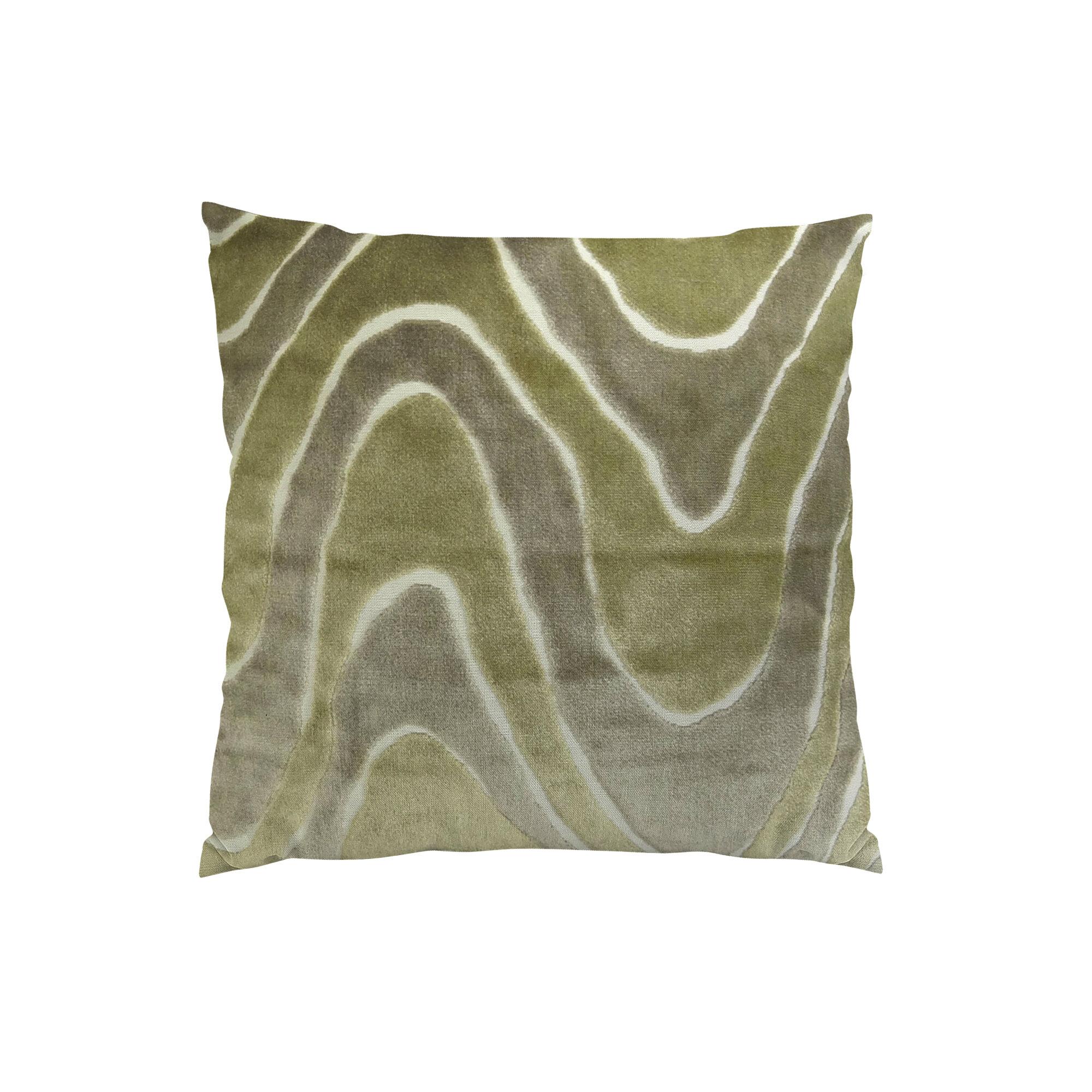Plutus Brands Lush Wave Throw Pillow Wayfair
