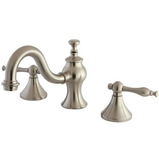 Kingston Brass Widespread Bathroom Faucet with Drain Assembly