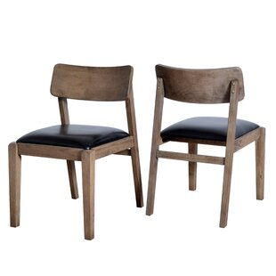 Vogel Wooden Upholstered Dining Chair (Se..