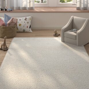 Compare Garretson Hand-Woven White Area Rug By Zoomie Kids