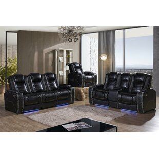 Catherine 3 Piece Reclining Living Room Set By Red Barrel Studio