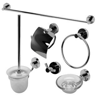 Alfi Brand Matching 6 Piece Bathroom Accessory Set