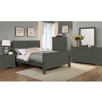 Beckenham Queen Sleigh 4 Piece Bedroom Set Charlton Home