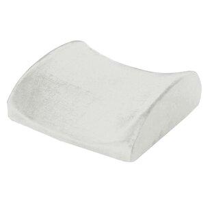 Remedy Natural Pedic Lumbar Support Cushion Memory Foam Pillow