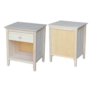 Sommerville 1 Drawer Nightstand Alcott Hill