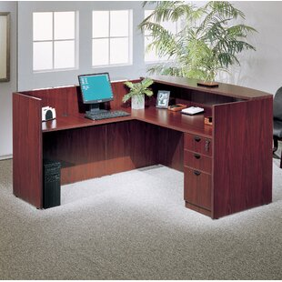 3 Piece L-Shape Desk Office Suite