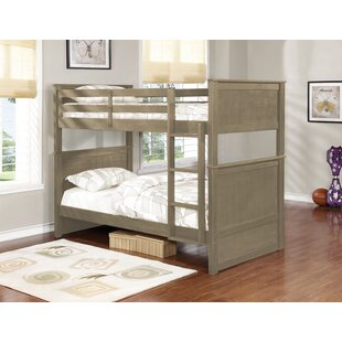 Reviews Ward Twin Over Twin Bunk Bed by Harriet Bee Reviews (2019) & Buyer's Guide