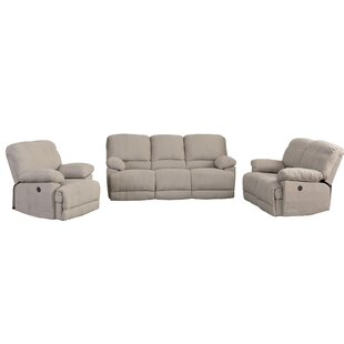 Red Barrel Studio Condron Reclining 3 Piece Living Room Set (Set of 3)