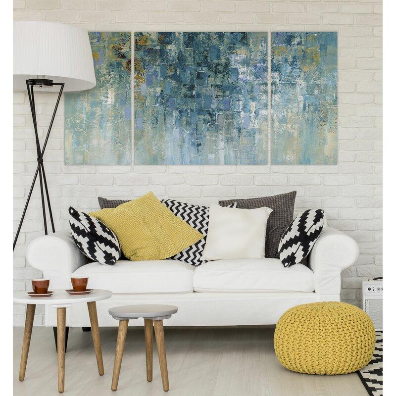 Williston Forge A Premium I Love The Rain Graphic Art Print Multi Piece Image On Wrapped Canvas Reviews Wayfair