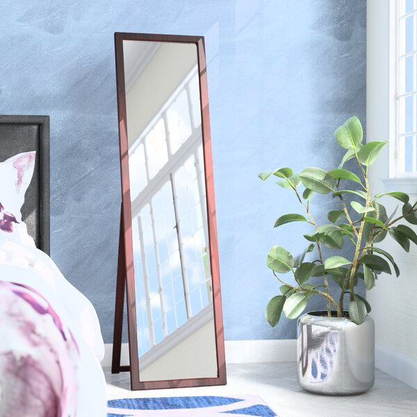 Zipcode Design Kissel Full Length Rectangle Stand Mirror & Reviews ...