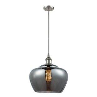 Orren Ellis Caillo 1-Light Globe Pendant