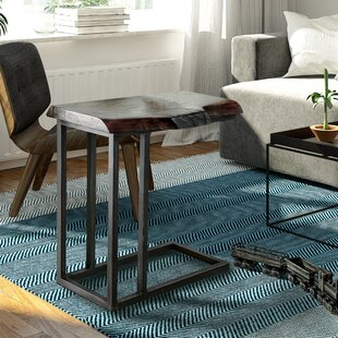 Deals Armstrong Industrial End Table by Union Rustic