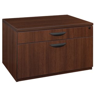 Latitude Run Linh Low Box File 2-Drawer Lateral Filing Cabinet