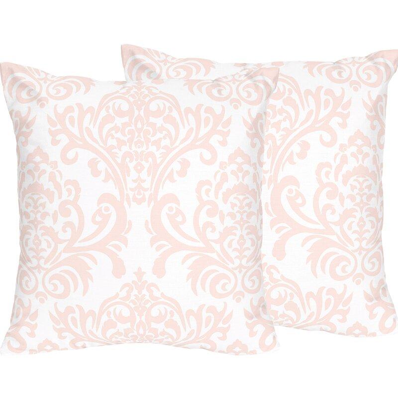 Sweet Jojo Designs Amelia Cotton Throw Pillow Reviews Wayfair