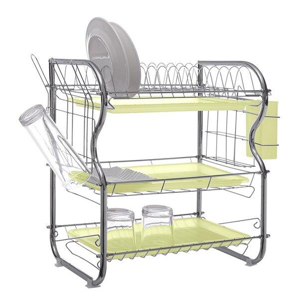 3 Tier Dish Drying Rack Wayfair