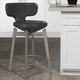 Lazenby Bar & Counter Stool Swivel Stool by Ebern Designs