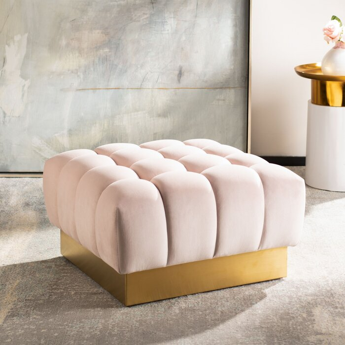 Incredible Simonton Square Tufted Ottoman Creativecarmelina Interior Chair Design Creativecarmelinacom