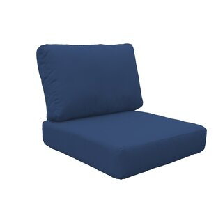 Indoor/Outdoor High Back Chair Cushion Cover