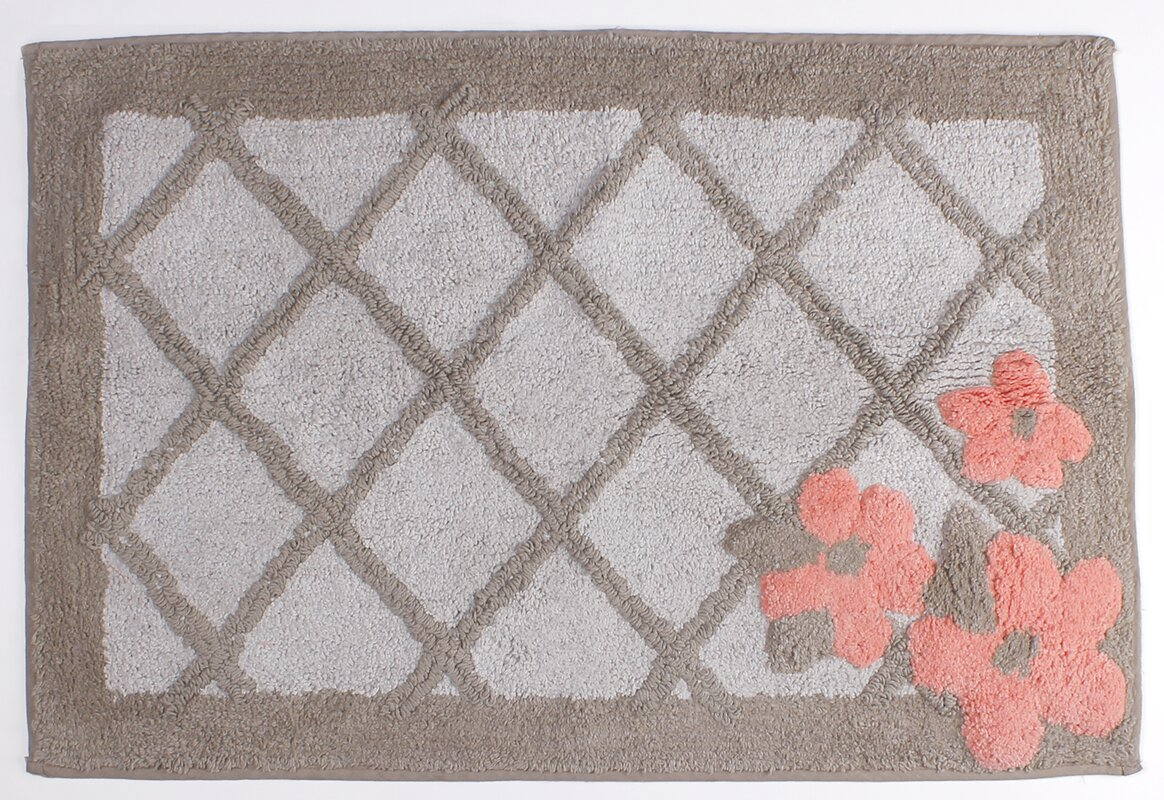 coral bathroom rugs bath linens | wayfair