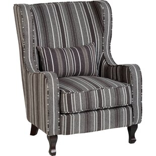 Sherbone Fireside Wingback Chair By Home Loft Concept