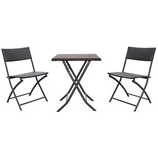 International Caravan Catalina 3 Piece Bistro Set