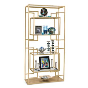 Mischa Etagere Bookcase by Brayden Studio Great Reviews
