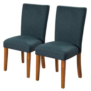 Rotherham Upholstered Dining Chair Set of 2 by Alcott Hill