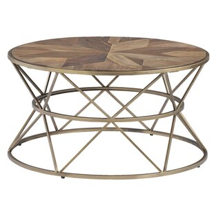 Kirklin Round Coffee Table by Wrought Studio