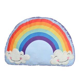 Zoomie Kids Jamaica Avenue Rainbow Polyfill Body Pillow