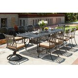 Melchior 11 Piece Dining Set with Cushions