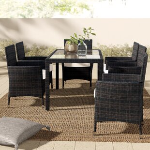 Tinker 7 Piece Dining Set with Cushions