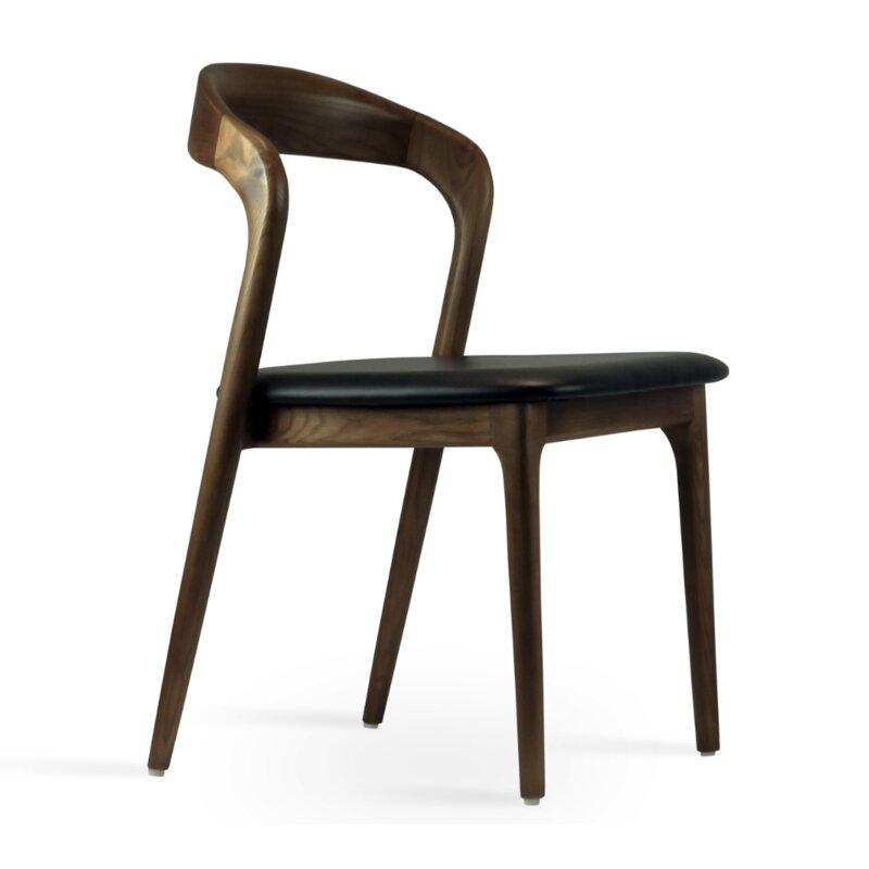 Industrial Modern Infinity Solid Wood Dining Chair Wayfair Ca