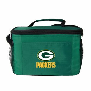 6 Can NFL Green Bay Packers Cooler